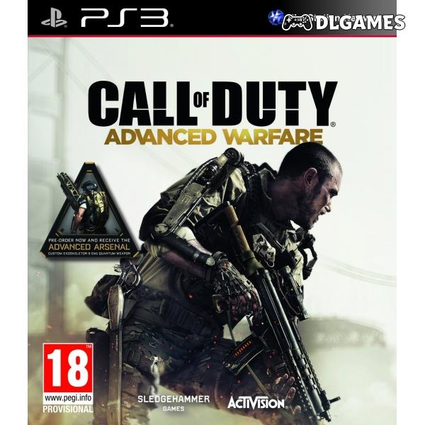 Call of Duty Advanced Warfare PS3 تحميل لعبة DLGAMES - Download All Your Games For Free
