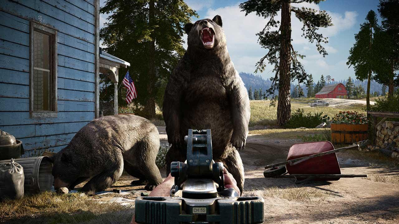 Download Far Cry 5 PS4 Arabic