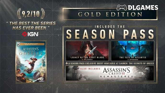 Download Assassin's Creed Odyssey Gold Edition PC Arabic
