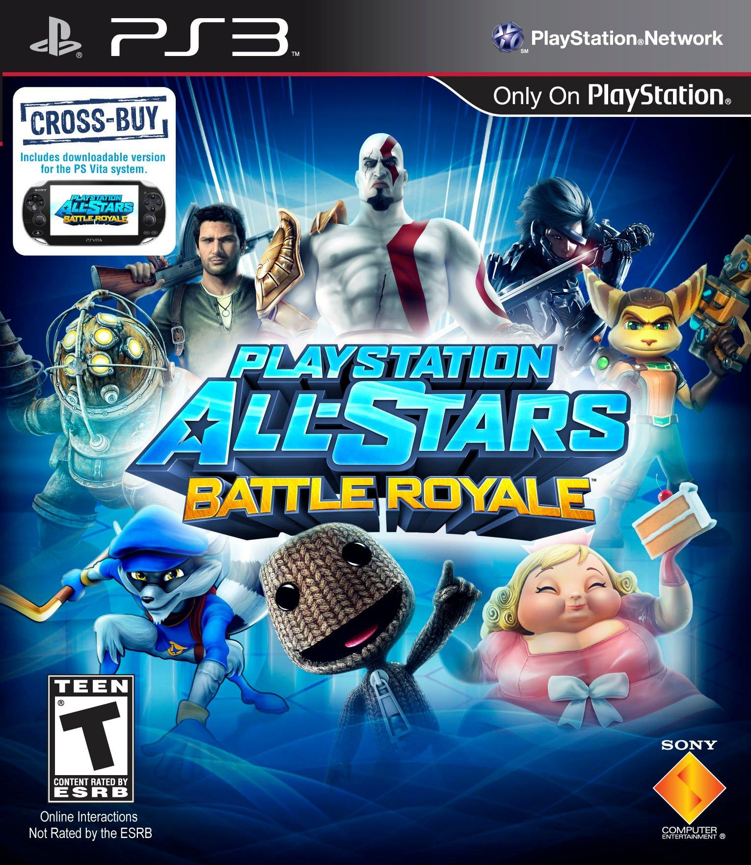 Download PlayStation All Stars Battle Royale ps3