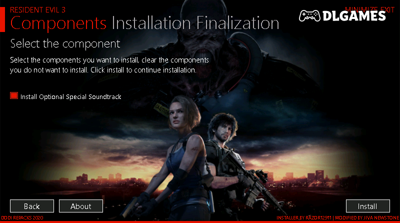 Download Resident Evil 3 Repack Cracked Direct Links DLGAMES - Download All Your Games For Free
