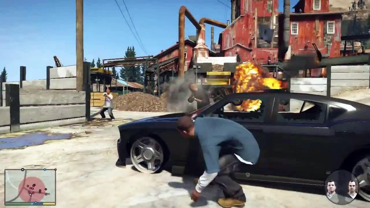 للبلايستيشن 3 Grand Theft Auto V PS3 تحميل لعبة DLGAMES - Download All Your Games For Free