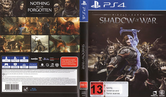 Download Middle Earth Shadow of War Gold Edition PS4 Arabic