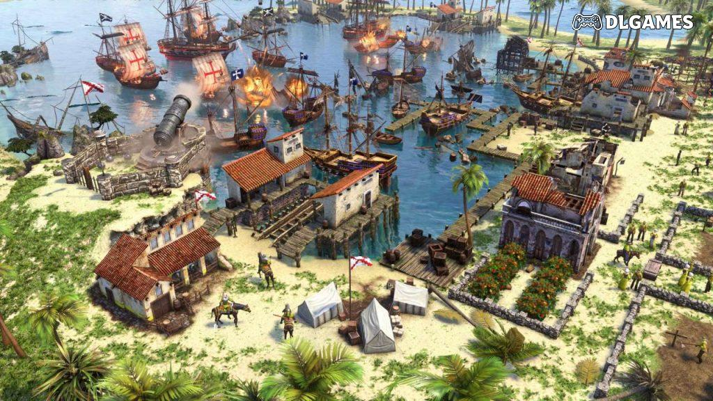 Download Age of Empires III Definitive Edition 2020 Cracked Direct Links DLGAMES - Download All Your Games For Free