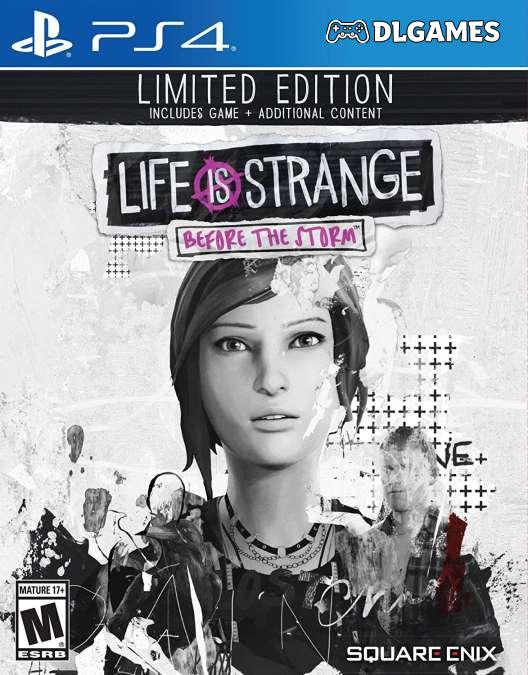 Download Life is Strange Before The Storm Limited Edition PS4 Arabic DLGAMES - Download All Your Games For Free
