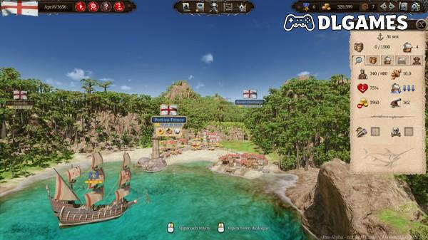 Download Port Royale 4 PC Full Cracked CODEX Direct Links DLGAMES - Download All Your Games For Free