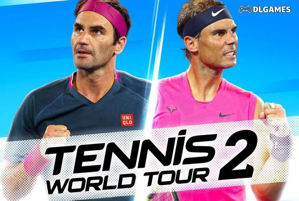 Download Tennis World Tour 2 PC CODEX Full Cracked Direct Links DLGAMES - Download All Your Games For Free