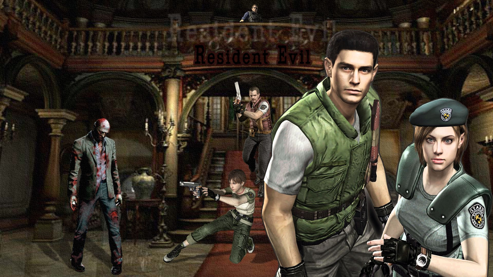 Resident Evil 1 Wallpapers - Top Free Resident Evil 1 Backgrounds - WallpaperAccess