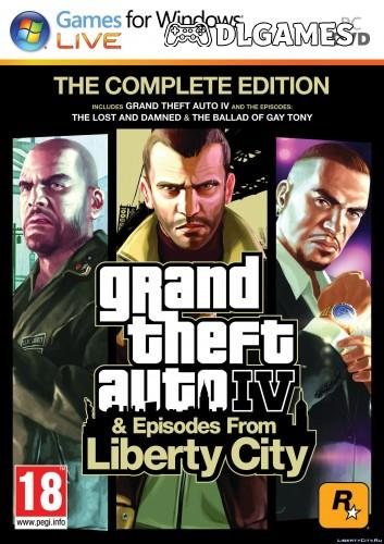 Grand Theft Auto IV: The Complete Edition v1.2.0.43 + Radio Downgrader + Vanilla Fixes Modpack v1.6.2 + Wrappers