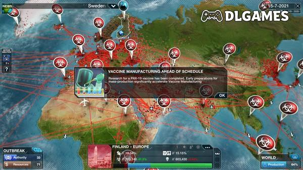Download Plague Inc The Cure-GoldBerg PC 2021 Full Cracked Direct Links DLGAMES - Download All Your Games For Free