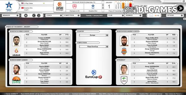 Download International Basketball Manager Season 2019 2020-SKIDROW Full PC Cracked Direct Links DLGAMES - Download All Your Games For Free
