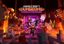 Photo of Minecraft Dungeons Flames of the Nether Available Now