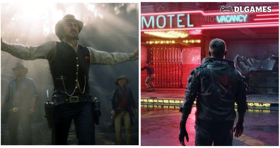 Cyberpunk 2077 ضد Red Dead Redemption 2: أي لعبة أفضل تقنياً؟ | سوالفنا DLGAMES - Download All Your Games For Free
