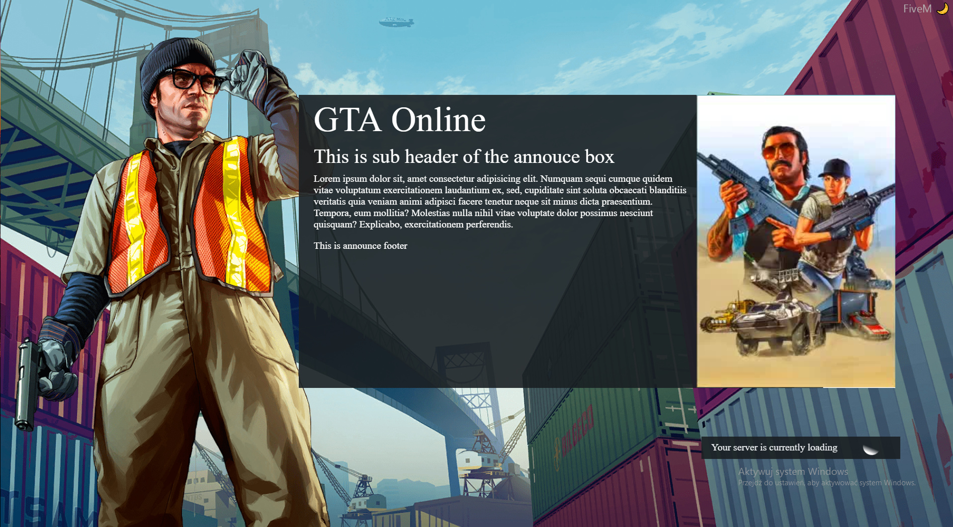 Release]Gta Online loading screen - Releases - Cfx.re Community
