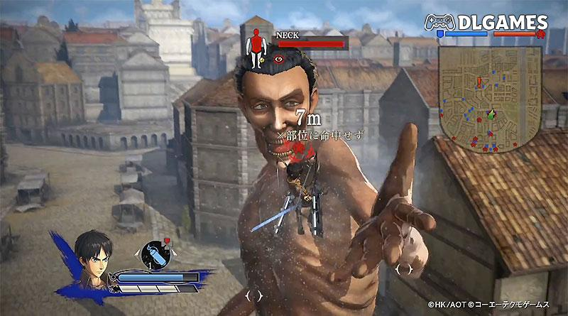 Attack on Titan Wings of Freedom ps3